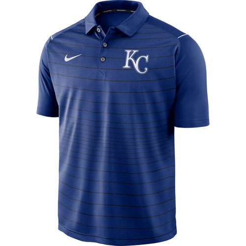 Nike Men's Kansas City Royals Stripe Polo Shirt
