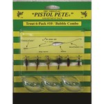 Pistol Pete Trout Bubble Combo Kits 6-Pack - view number 1