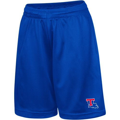 Colosseum Athletics Kids' Louisiana Tech University Basic Mesh Shorts