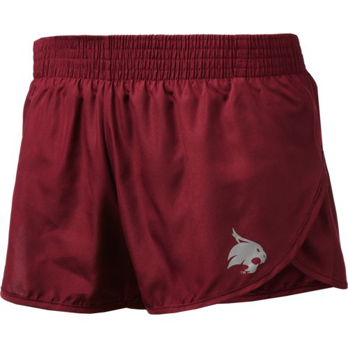 Colosseum Athletics Women's Texas State University Reflective Logo Shorts - view number 1