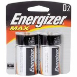 Energizer® Max D Batteries 2-Pack