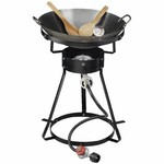 Outdoor Gourmet Fryers Propane Wok Package
