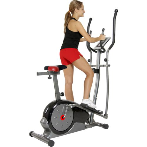 Body Champ 2-in-1 Elliptical/ Upright Cycle Dual Trainer Deals