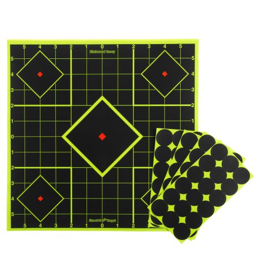 Display product reviews for Birchwood Casey® Shoot-N-C® Sight-In Target Kit