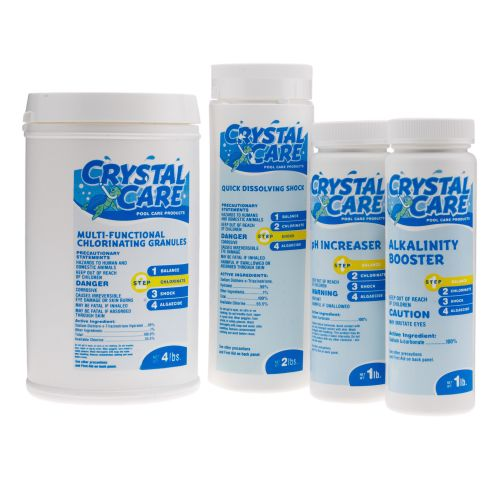 Crystal Care Aboveground Pool Maintenance Kit - view number 1