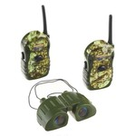 Outdoor Hunter Sports-Style Camouflage Walkie-Talkie and Binocular Set