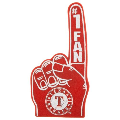 Tag Express Texas Rangers Foam Finger