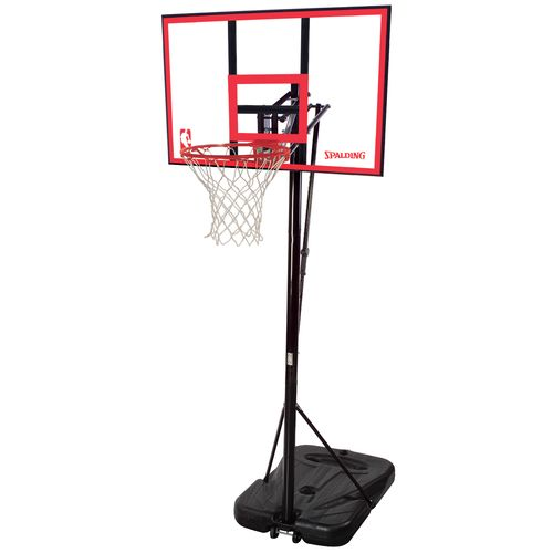 "Spalding 44"" Portable Basketball Hoop"