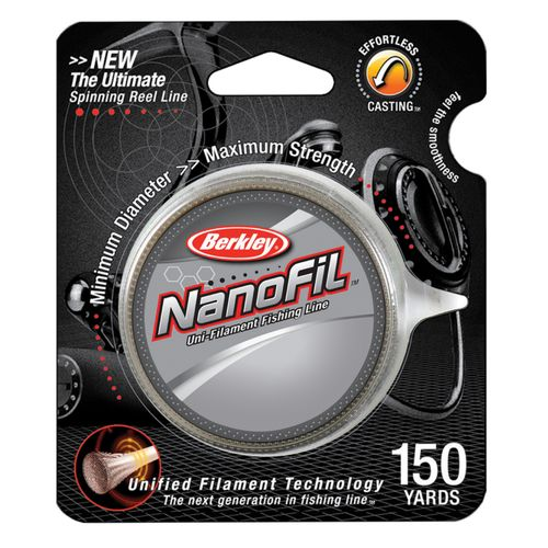 Berkley® Nanofil™ 6 lb. - 150 yards Unifilament Fishing Line