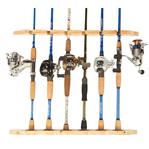Image for Tournament Choice® Dual 6-Rod Wall Rack from Academy