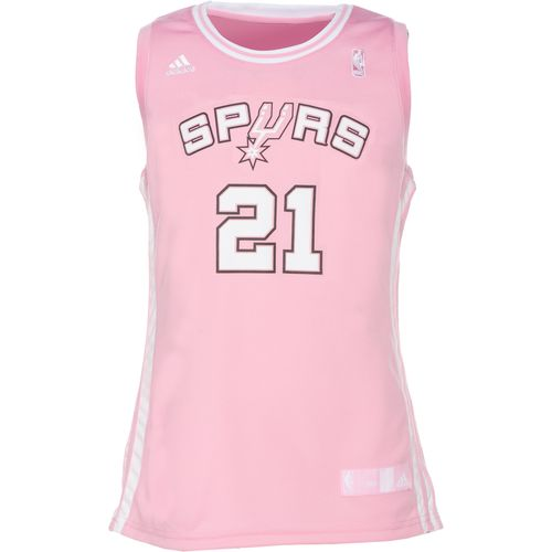adidas™ Girls' San Antonio Spurs Tim Duncan Replica Jersey