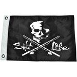 Salt Life Skull and Poles Flag