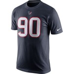 Nike Men's Houston Texans Jadeveon Clowney #90 Player Pride T-shirt