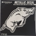 Stockdale University of Arkansas Metallic Decal