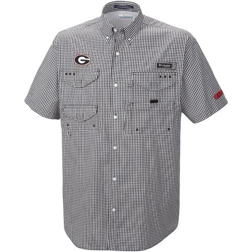 Columbia Sportswear Men's University of Georgia Collegiate Super Bonehead™ Short Sleeve Fis