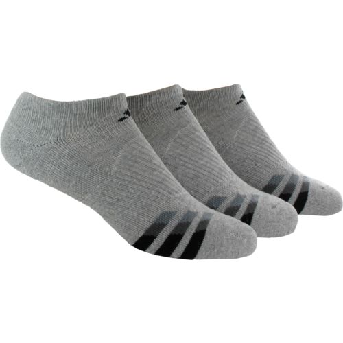 adidas™ Men's climalite® No-Show Socks 3-Pair