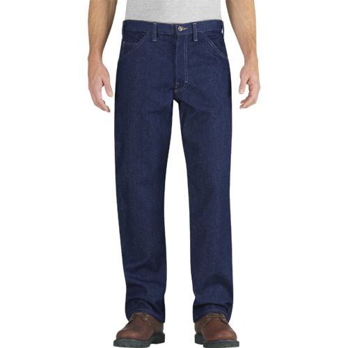 Dickies Men's Flame Resistant Relaxed Fit Straight Leg Carpenter Jean