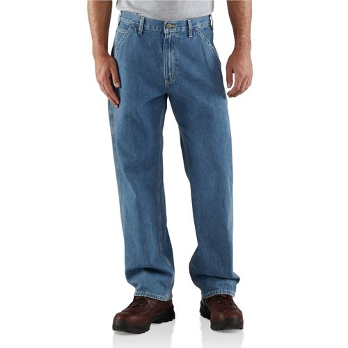 Carhartt Men's Washed Denim Work Dungaree