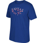 adidas Men's University of Kansas Energy Explosion T-shirt
