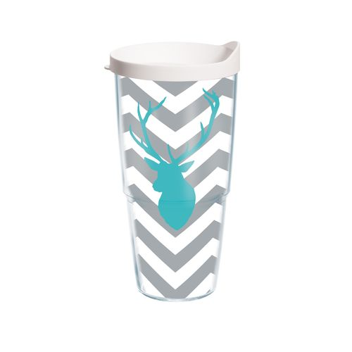 Tervis Deer Chevron 24 oz. Tumbler with Lid