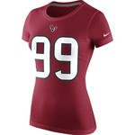 Nike Women's Houston Texans J.J. Watt #99 Player Pride T-shirt