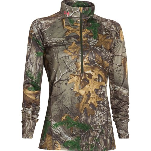 Display product reviews for Under Armour Women's Core Hunt 1/2 Zip Tech Camo Pullover