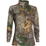 Under Armour® Women's Core Hunt 1/2 Zip Tech Camo Pullover