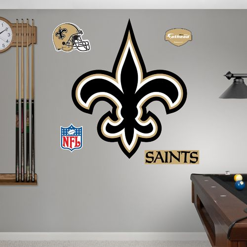 Fathead New Orleans Saints Logo and Team Decals
