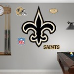 Fathead New Orleans Saints Logo and Team Decals 5-Pack