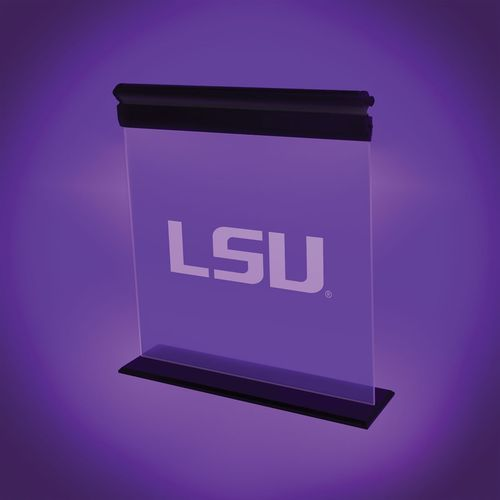 AES Optics Louisiana State University Acrylic LED Light - view number 1