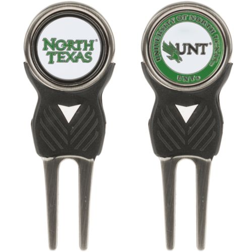 Team Golf University of North Texas Divot Tool and Markers Set