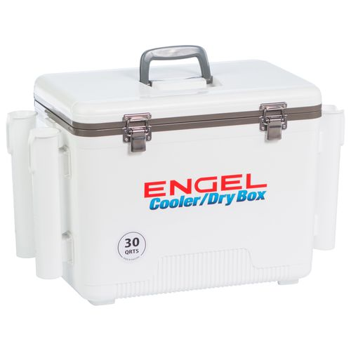 Engel 30 qt Cooler/Dry Box with Rod Holders - view number 10