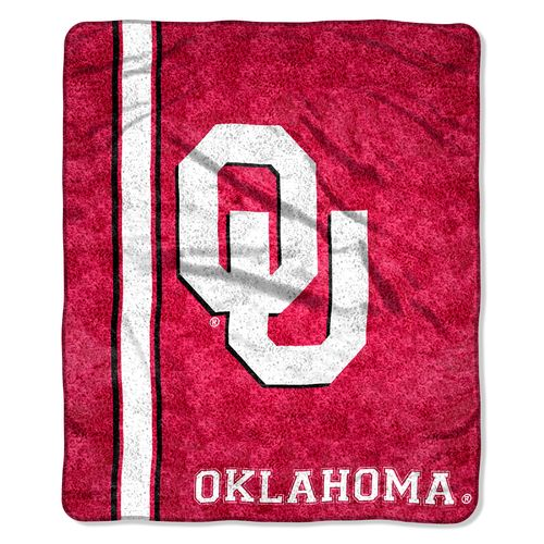 The Northwest Company University of Oklahoma Jersey Sherpa Throw