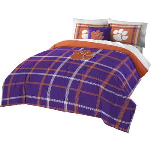 The Northwest Company Clemson University Full Comforter and Sham Set