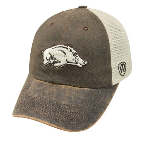 Top of the World Adults' University of Arkansas ScatMesh Cap