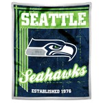 The Northwest Company Seattle Seahawks Old School Mink with Sherpa Throw