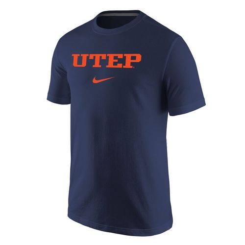 Nike™ Men's University of Texas at El Paso Cotton Short Sleeve T-shirt - view number 1