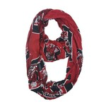 ZooZatz Women's University of South Carolina Logo Infinity Scarf