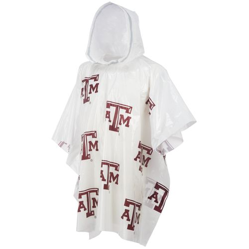 Storm Duds Men's Texas A&M University Lightweight Stadium Rain Poncho