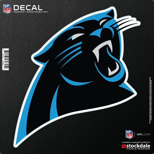 Stockdale Carolina Panthers 6' x 6' Decal