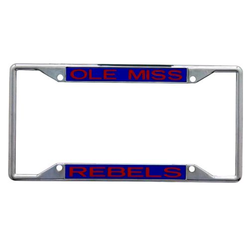 Stockdale University of Mississippi Mirror License Plate Frame - view number 1