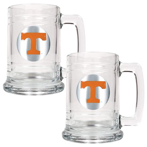 Great American Products University of Tennessee 15 oz. Glass Tankards 2-Pack