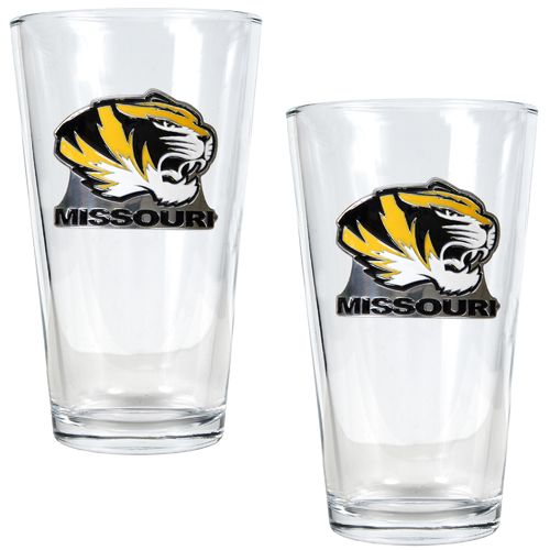 Great American Products University of Missouri 16 oz. Pint Glasses 2-Pack
