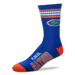For Bare Feet Adults' University of Florida 4-Stripe Deuce Socks