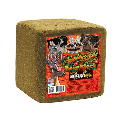 Antler King Apple Burst 20 lb. Deer Block - Game Feed And Supplements at Academy Sports thumbnail