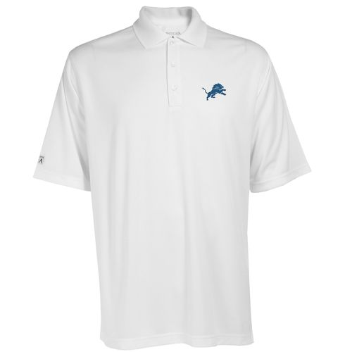 Antigua Men's Detroit Lions Exceed Polo Shirt - view number 1