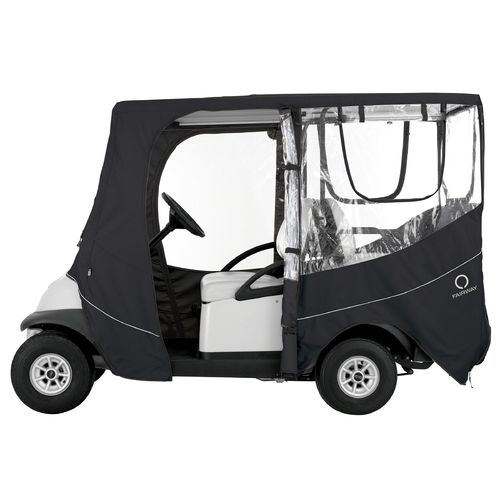 Classic Accessories Deluxe Long Roof Golf Cart Enclosure - view number 2