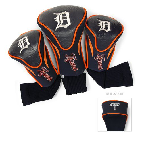 Team Golf Detroit Tigers Contour Sock Head Covers 3-Pack