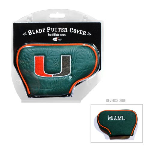 Team Golf University of Miami Blade Putter Cover