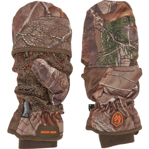 Display product reviews for Game Winner Men's Heavyweight Pop-Top Hunting Gloves